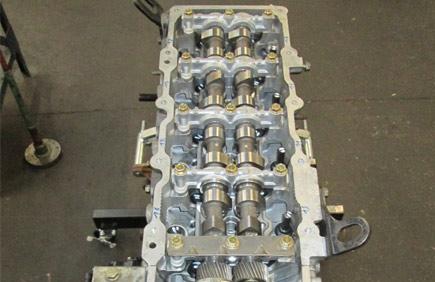 Calage distri sur 4 cylindres en cours de reconstruction