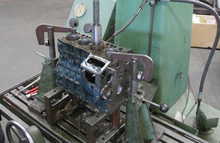 Rodage de la cylindrée