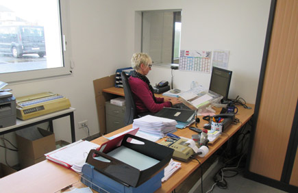 Sylvie, Service Secretariat & Accueil
